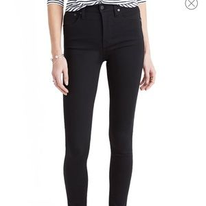 """Madewell 10"""" High- Rise Skinny Jeans in Carbondale"""